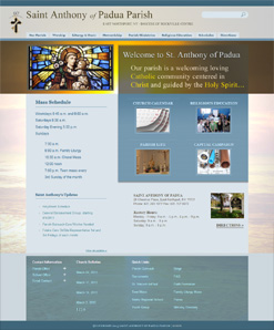 Custom Church Theme for WordPress